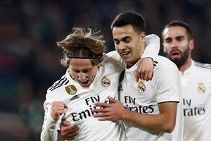 Highlights: Sao dự bị lập công, Real thắng nhọc Betis 2 - 1