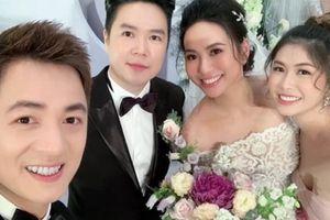 Dàn sao Việt tấp nập dự lễ cưới Lê Hiếu và cô dâu 9x