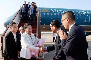 Chủ tịch Quốc hội Nguyễn Thị Kim Ngân đến Siem Reap tham dự Hội nghị APPF-27