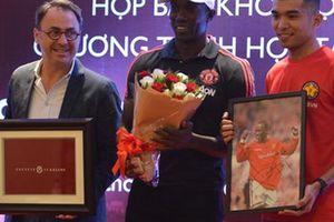 Danh thủ Manchester United tin đội tuyển Việt Nam sẽ sớm dự World Cup