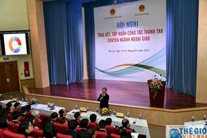 Khai mạc Hội nghị tổng kết công tác thanh tra chuyên ngành Ngoại giao