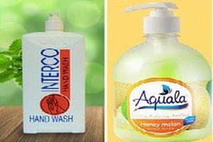 Thu hồi trên toàn quốc 2 sản phẩm mỹ phẩm nước rửa tay không đảm bảo chất lượng
