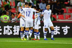 Uzbekistan qua mặt Nhật Bản giành ngôi đầu bảng F Asian Cup 2019