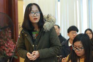 Học sinh góp ý dự án Luật Giáo dục sửa đổi