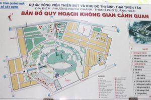 Quảng Ngãi 'phanh' 2 dự án đầu tư theo hình thức BT