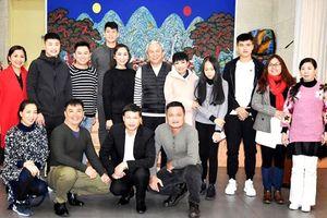Ca sĩ Phương Thanh khoe ảnh gặp Đình Trọng, Văn Thanh trên đất Hàn Quốc