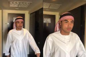 Clip: Đức Huy bất ngờ hóa thân thành Hoàng tử Ả rập khi vừa 'lấy lại trí nhớ'
