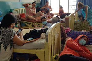 Dịch sởi bất thường, trẻ em, bà bầu lũ lượt nhập viện