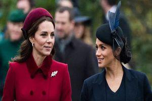 Thêm bằng chứng cho thấy Meghan và chị dâu Kate 'bằng mặt không bằng lòng'