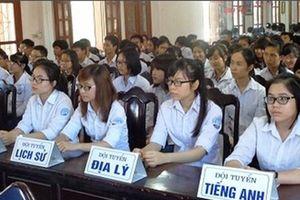 4.512 học sinh THPT 'tranh tài' trong kỳ thi học sinh giỏi quốc gia 2019