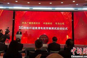 Trung Quốc thử nghiệm thành công truyền hình 4K trên mạng 5G