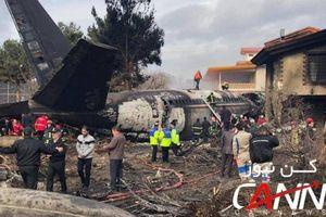 Máy bay quân sự Iran đâm sầm vào nhà dân, 15 người chết