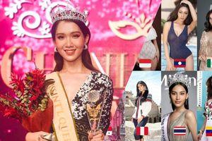 Vừa mới đăng quang 2 ngày, đã lộ diện dàn đối thủ 'khủng' của Đỗ Nhật Hà tại Hoa hậu Chuyển giới Quốc tế 2019