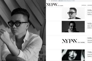 NTK Công Trí bắt tay cùng stylist của Selena Gomez tại New York Fashion Week