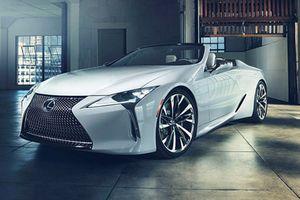 Lexus LC Convertible - Tương lai xe mui trần hạng sang