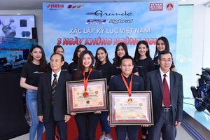 Sau Exciter, Yamaha tiếp tục chinh phục kỷ lục Việt Nam với Grande Hybrid