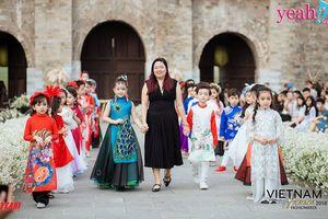 Tuần lễ thời trang trẻ em quốc tế Việt Nam 2018: Bước đà cho sự phát triển áo dài trẻ em