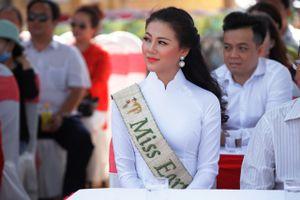 Hoa hậu Trái đất Phương Khánh khởi động loạt dự án vì môi trường tại Bến Tre