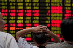 Chứng khoán châu Á sụt điểm vì dữ liệu thương mại của Trung Quốc