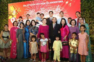 Cộng đồng người Việt tại Argentina vui đón Tết Kỷ Hợi 2019