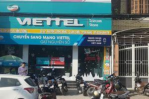 Bắt đối tượng cướp cửa hàng Viettel