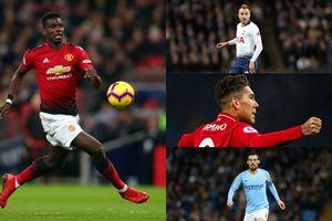 BXH 10 tiền vệ tấn công hay nhất Premier League: Paul Pogba đứng thứ 8