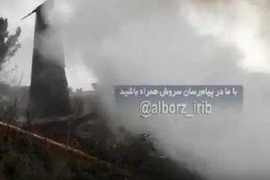 Máy bay Boeing 707 gặp nạn tại Iran, 15 người chết