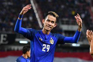 Sao Thái Lan dính chấn thương, lỡ hẹn vòng 1/8 Asian Cup