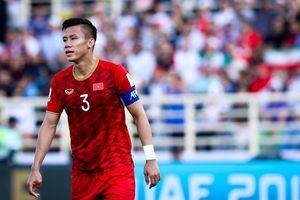 Tuyển Việt Nam và tử huyệt của sơ đồ 3 trung vệ tại Asian Cup