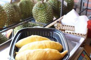 Đặc sản sầu riêng 200 ngàn/kg, ăn tại chỗ cấm mang về nhà