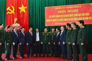 Đảng ủy Quân khu 3 ra nghị quyết lãnh đạo thực hiện nhiệm vụ quân sự, quốc phòng và xây dựng đảng bộ