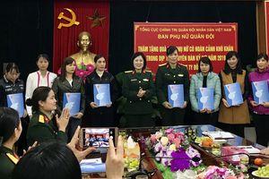 Ban Phụ nữ Quân đội thăm, tặng quà cán bộ, hội viên phụ nữ có hoàn cảnh khó khăn