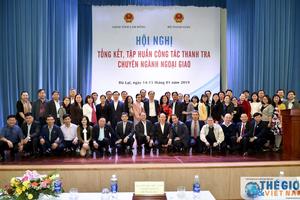 Thanh tra chuyên ngành ngoại giao: Góp phần nâng cao hiệu quả quản lý nhà nước trong lĩnh vực đối ngoại