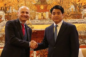 Tăng cường hợp tác toàn diện Hà Nội - Italia