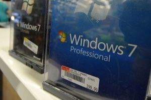 Windows 7 chỉ còn một năm hỗ trợ mở rộng