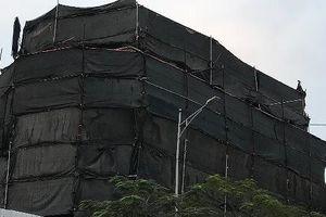 Hà Nội: Cán bộ ngang nhiên xây dựng công trình trái phép giữa trung tâm Hà Đông?