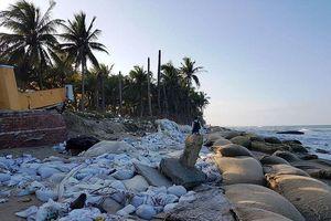 Xây đảo nhân tạo ven biển để chống sạt lở biển Cửa Đại?