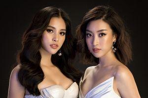Hoa hậu Mỹ Linh, Tiểu Vy tung ảnh quyến rũ hết cỡ