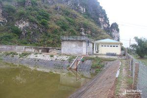 Nhà máy nước sạch hơn 13 tỷ đồng thi công hơn 4 năm chưa xong