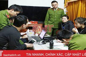 Triệt xóa đường dây lô đề 'khủng' ở TP Hà Tĩnh, bắt 8 đối tượng