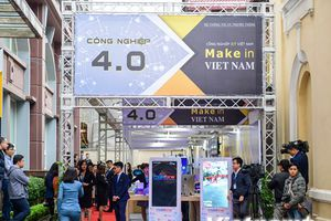 Những gian hàng đặc sắc tại triển lãm về công nghệ Make in Vietnam