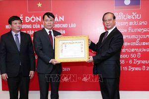 TTXVN vinh dự đón nhận các Huân chương cao quý của Nhà nước CHDCND Lào