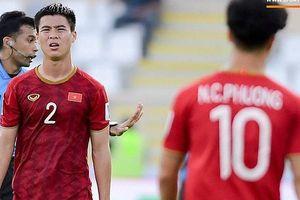 Duy Mạnh bị cấm thi đấu, chịu phạt 5.000 USD, HLV Park Hang-seo đau đầu tìm người thay thế