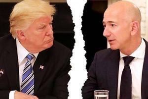Ông Trump 'đá xoáy' tỷ phú Amazon về vụ ngoại tình