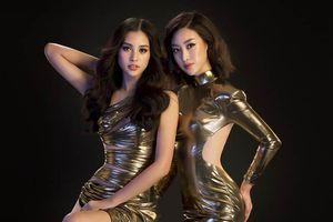 Hoa hậu Đỗ Mỹ Linh và Trần Tiểu Vy khoe dáng nuột làm rung động mọi ánh nhìn