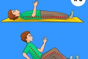 5 bài tập giảm béo bụng, săn chắc vòng eo hiệu quả mà không cần chạy nhảy