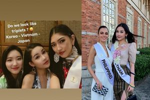Bị khán giả trong nước ghét bỏ, Ngân Anh vẫn được các thí sinh Miss Intercontinental tổ chức sinh nhật