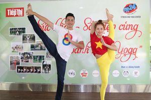 Phút ngẫu hứng cùng Yoga của ca sĩ Nguyễn Phi Hùng và người hâm mộ