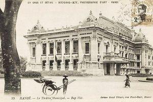 Ảnh chất lừ về Nhà hát Lớn Hà Nội thuở xưa