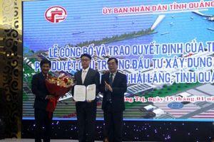 Quảng Trị: Công bố quyết định của Thủ tướng Chính phủ về xây dựng Khu bến cảng Mỹ Thủy